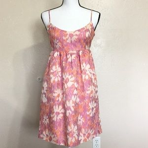 Anthropologie Abstract Floral Dress
